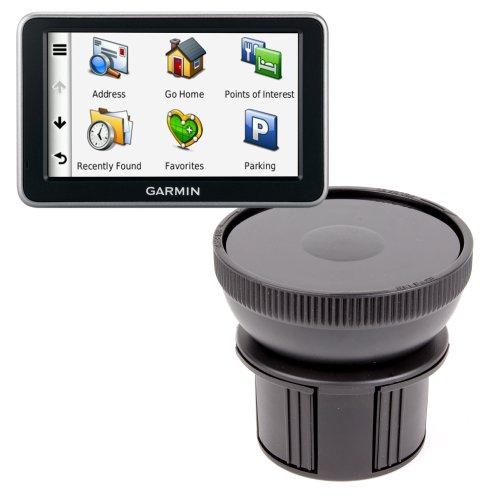 DURAGADGET Fixation Support Porte-gobelet Voiture - Base Ajustable - pour GPS Garmin Nüvi 50, 2597LMT, 2595LMT, 3597, 2360u