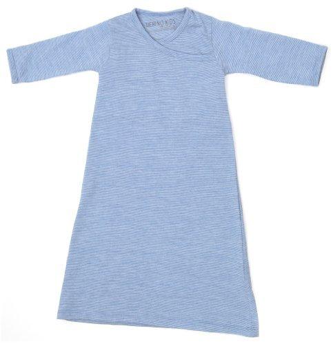 Merino Kids Cocooi Merino Baby Gown, Langarm Merino Kleid für Neugeborene, Banbury