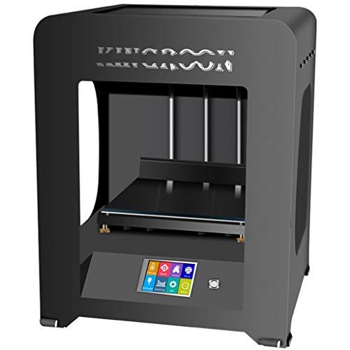 Imprimante 3D avec Smart Touch 3.2 écran Couleur Hors Ligne d'impression, l'imprimante Industrielle 3D Multi-domaine Universel (Color : Black)
