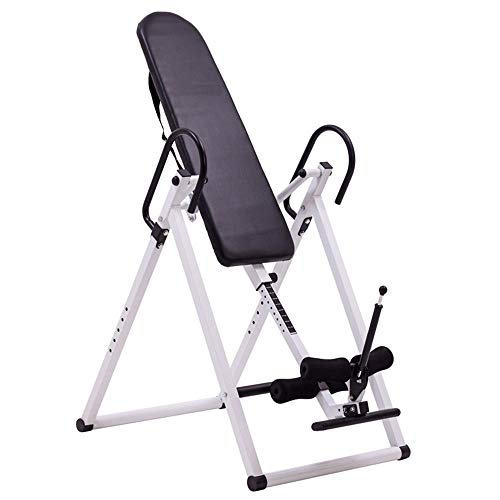 Great Deal! GoaEin Inversion Table Inversion Table Back Therapy Fitness Reflexology Equipment Invers...