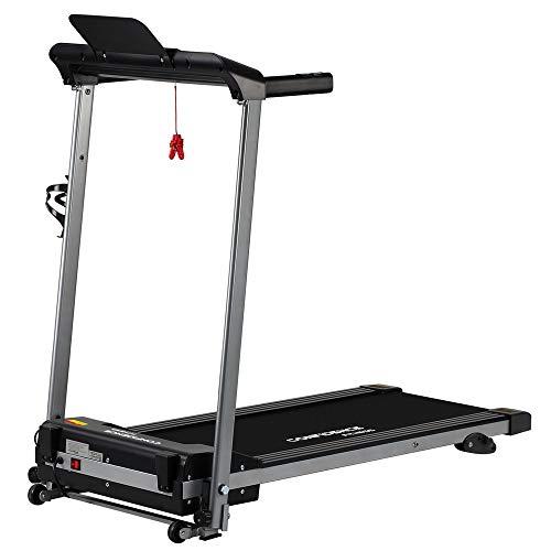 Confidence Fitness Ultra 200 Treadmill Electric Motorised Running Machine Silver/Black