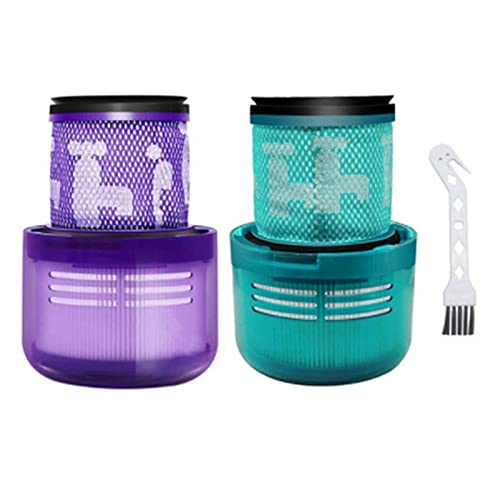 HNTYY Filtrar HEPA Piezas de Repuesto adecuadas para Dyson V11 V15 SV14 Cyclone Animal Absoluto Sin Cable de vacío Accesorios de Repuesto Piezas de aspiradora (Color : Blue Purple)