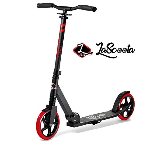 Why Should You Buy Lascoota Scooters for Kids 8 Years and up - Quick-Release Folding System - Dual S...