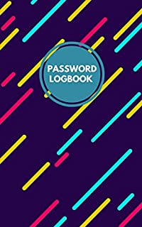 Password Book: Personal Internet Address Logbook Organizer information Keeper hand Lettering for Your Premium Journal record
