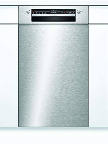 Bosch SPU2XMS01E Serie 2 Unterbau-Geschirrspüler / F / 45 cm / Edelstahl / 84 kWh/100 Zyklen / 10 MGD / Silence / Extra Trocknen / VarioSchublade / Home Connect