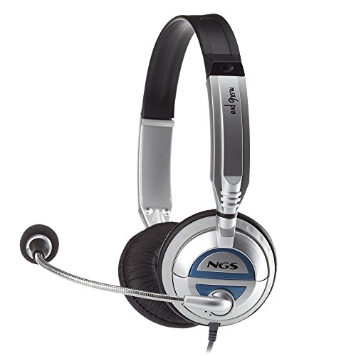 NGS MSX6 PRO - Auriculares diadema abiertos micrófono