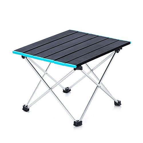 APXZC ultralichte draagbare compacte inklapbare aluminium campingtafel, met draagtas, robuust, duurzaam, slijtvast, roestvrij, gemakkelijk te reinigen, voor kamperen, wandelen, picknick