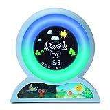 Wecker für Kinder, Wake Up Licht Wecker, Yisun Kinderschlaf-Trainingsuhr Wecker Nachtlicht für...