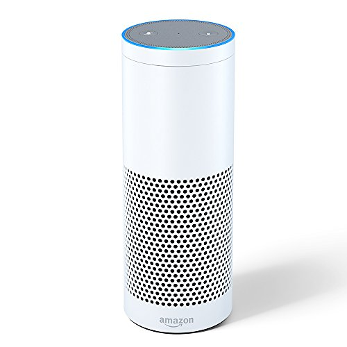 Echo Plus with built-in Hub 1st Generation– White