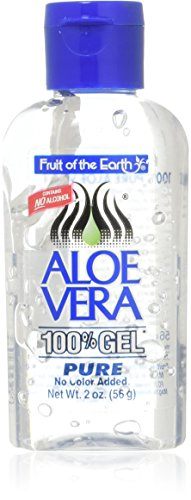 Fruit of the Earth Aloe Gel 2 Ounce (12 Pack) by Navajo Manufacturing