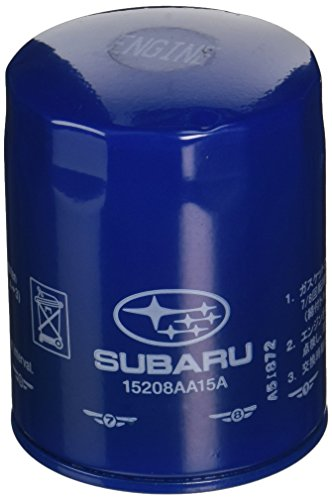 Genuine Subaru 15208AA15A Oil Filter Complete, 1 Pack