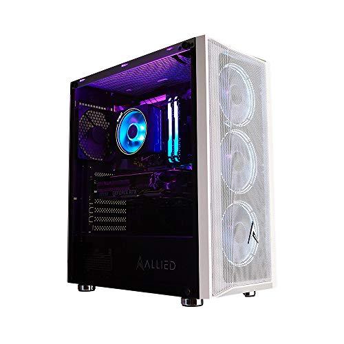 Allied Gaming Patriot Liquid Cooled Desktop PC: AMD Ryzen 9 5950X, RTX 3080 Ti Eagle OC 12GB, 240mm LC, 16GB 3600MHz RGB, 1TB PCI-E NVMe SSD, TUF X570 Plus WiFi, 800W 80+ Gold, ARGB Fans, WiFi Ready