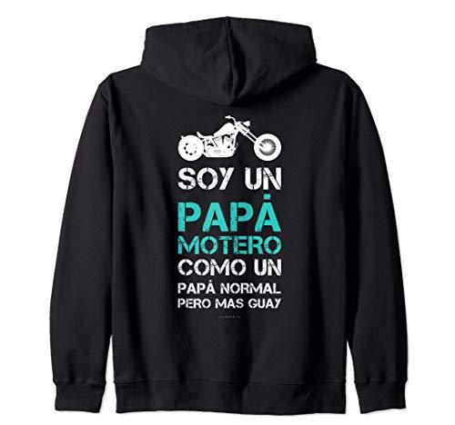 Sudaderas Hombre Con Capucha Y Cremallera Regalo Papá Motero Sudadera con Capucha