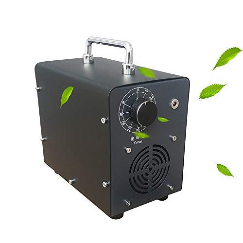 Fira Woo 5000mg / HR generador de ozono portátil esterilizador purificador de Aire ozonizador, máquina de ozono para el hogar, Coche