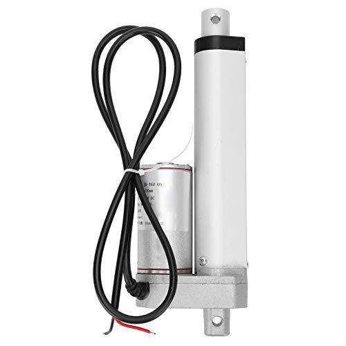 Actuador de movimiento lineal de putter eléctrico de motor de 300N y 100 mm Actuador lineal de carrera de grado industrial de servicio pesado JS-TGZ-U5(12VDC)