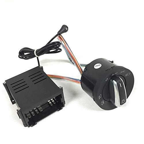 Interruptor de la ventana del lado del conductor Ajuste for el sensor de luz automática con el interruptor de faros que sale de la función a domicilio que viene a casa ajuste for VW for Polo for Golf
