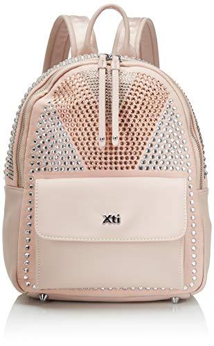 XTI 86284.0, Bolso mochila para Mujer, Rosa (Nude), 24x30x14