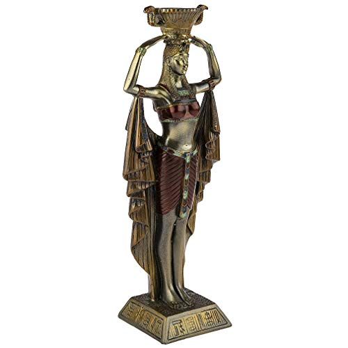 Figura Decorativa Egipto Belle Claopáter Drapee.