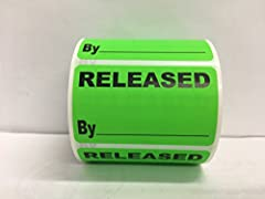 Simplify inventory and quality control operations with these labels Pressure sensitive bright labels stand out and get noticed Lends a professional appearance to your important shipments Permanent adhesive Easy to write on