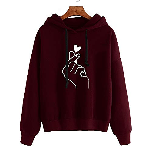 Hemlock Women Musical Notes Hoodies Sweater Coat Teen Girls Hooded Sweatshirt Pullover Jumper Outerwear Coat