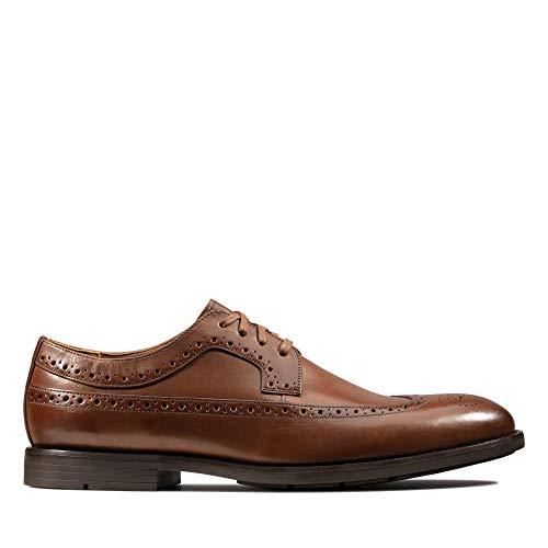 Clarks Ronnie Limit, Zapatos de Cordones Brogue para Hombre