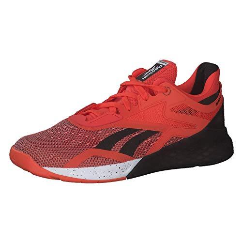 Reebok Nano X, Zapatillas de Running para Hombre, Vivdor Black White, 40.5 EU