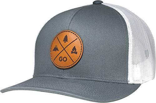 LINDO Trucker Hat - GO Outdoors (Gray/White)