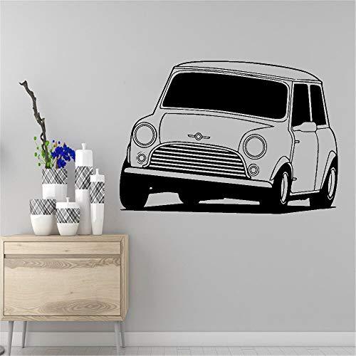 Etiqueta engomada del coche de dibujos animados papel pintado impermeable decoración del hogar para la decoración de la habitación de los niños decoración extraíble calcomanías de pared A7 57x81cm