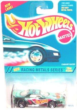 Hot Wheels - Racing Metals Series - Camaro Racer (Name on Roof Variant) - Collector #338