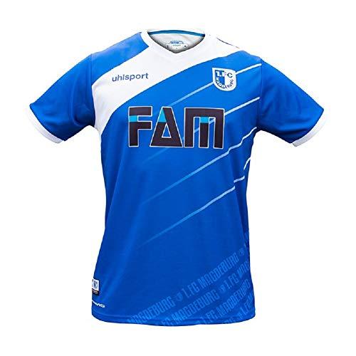 1. FC Magdeburg Uhlsport Trikot Home 18/19 (M, blau)