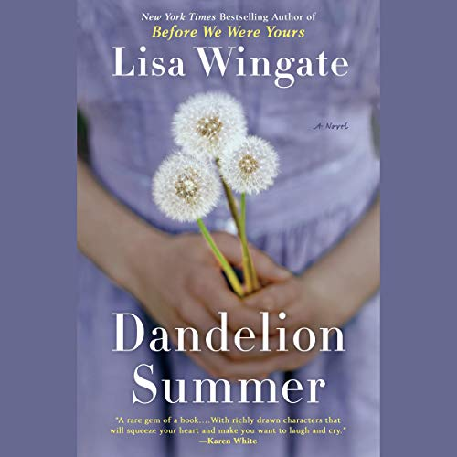 Dandelion Summer audiobook cover art