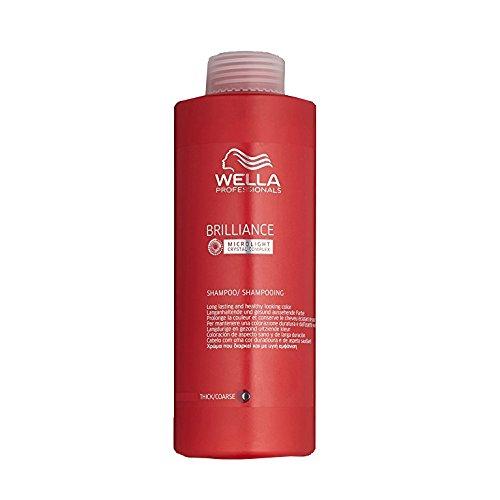 Wella Brilliance Shampoo Coloured Hair 1000 ml