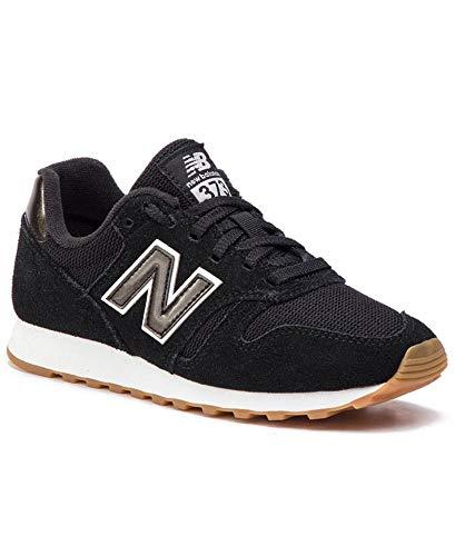 Tênis New Balance 373 Preto Classic Running Feminino - Tamanho(37) Cor(preto/branco)