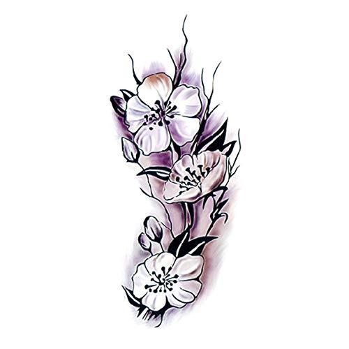 LITI タトゥーシール ボディー シール 大人女性 女の子 花ボディアート 大ビッグアーム 一時的な刺青セクシーな結婚式の入れ墨紙 テンポラリータトゥー ボディアームレッグアート ステッカーリムーバブル