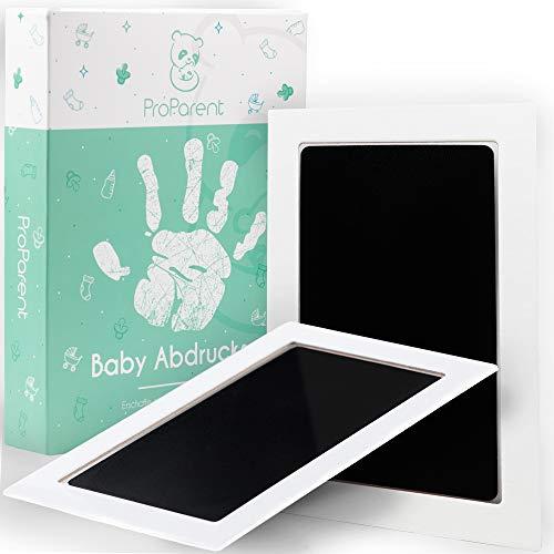 ProParent® Baby Handabdruck und Fußabdruck Set (2er Pack) - Ideale Größe bis 12 Monate für Handabdruck Baby & Fussabdruck Baby - Geschenke zur Geburt