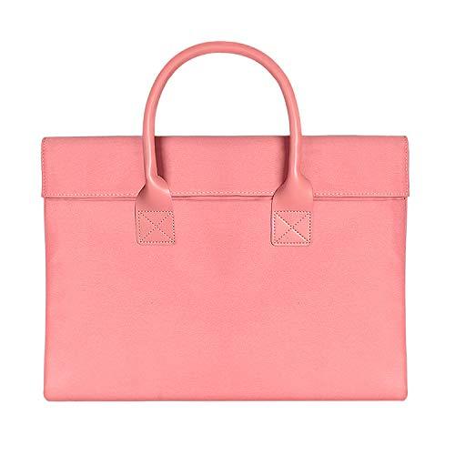 Laptop y Netbook Bag, 15.4 Pulgadas Universal usable Suave manija Portable del...