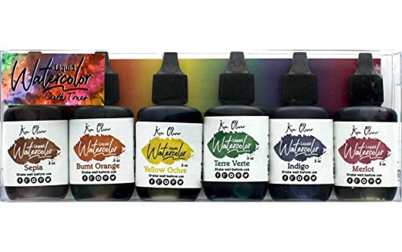 Contact USA KN08701 KO Liquid Watercolor Earth