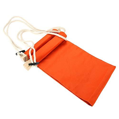 De verstelbare hangmat kan onder het bureau worden opgehangen. Eenvoudig te installeren accessoires voor draagbare voetsteunen-bureausteunen.
