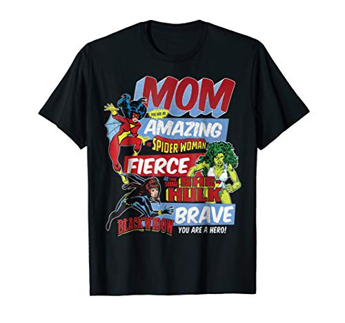 Marvel Vintage Retro Amazing Mom Graphic T-Shirt