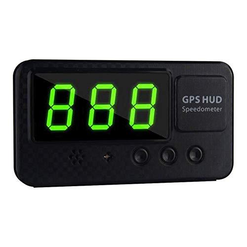 LNIM Indicateur de Vitesse d'affichage tête Haute GPS, Voiture Universelle numérique Originale Affichage de la Vitesse numérique HUD Alarme de Vitesse Excessive pour Tous Les véhicules C60S