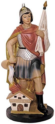 Kaltner Präsente Geschenkidee - Deko Figur Heiliger Sankt Florian Heiligenfigur (Höhe 30 cm)