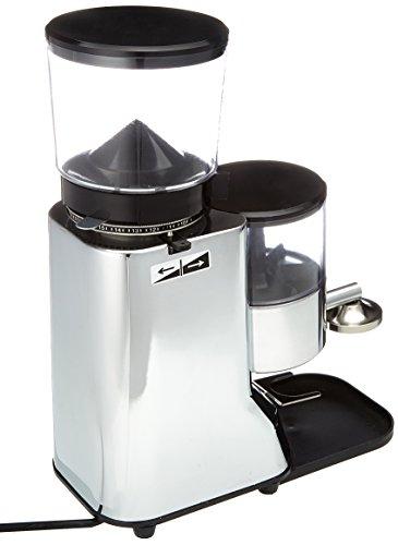 Ecm 89014 - Molino de café eléctrico con piñones, color plateado