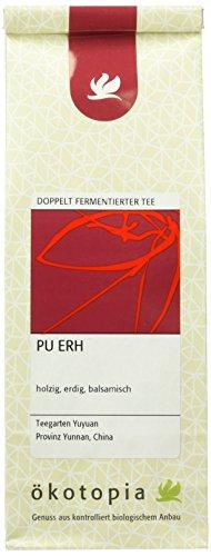 Ökotopia Doppelt Fermentierter Tee Pu Erh, 5er Pack (5 x 75 g)