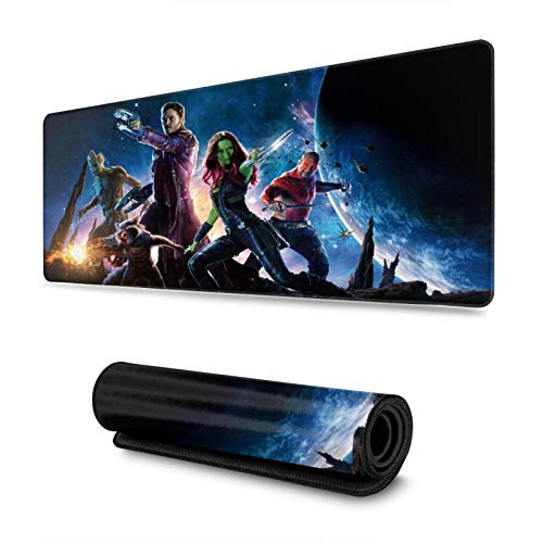 Guardians of The Galaxy Gaming Mousepads Non-Slip Rubber Electronic Sports Mouse mat s Oversized Large Mouse Mat, Rectangular Mouse Pads 11.8 x 31.5 inch