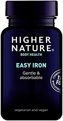 Higher Nature True Food Easy Iron Pack of 90 by Higher Nature