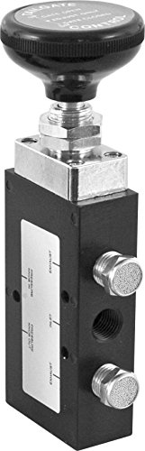 Buyers Products BAV020 4-Way Air Valve (Valve,Air,4Way,3Pos,Push-Pull)