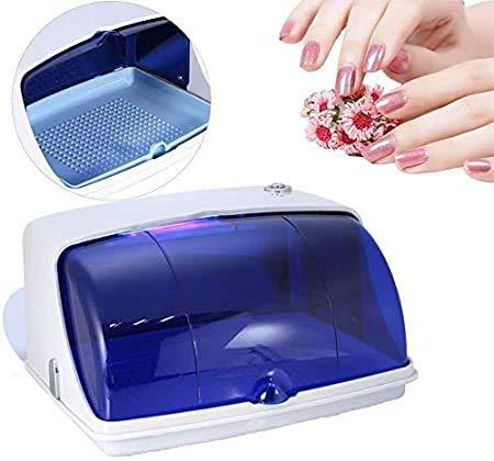 ETE ETMATE Mini Armoire de Désinfection Professional,Boîte de Désinfection UV avec Lumière LED,peut être Utilisée pour les Serviettes, les Ustensiles de Cuisine, Les beauté, Les manucures