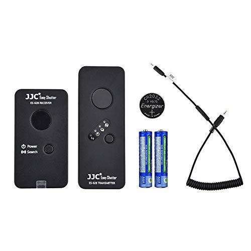 Control remoto inalámbrico con disparador para Fujifilm Fuji X-T4 X-T3 X-T2 X-T1 X-H1 X-T30 X-T20 X-T100 X100F XF10 X-Pro2 X-E3 X-A5 GFX 50S GFX 50R X100T Reemplaza Cable de liberación Fujifilm RR-100