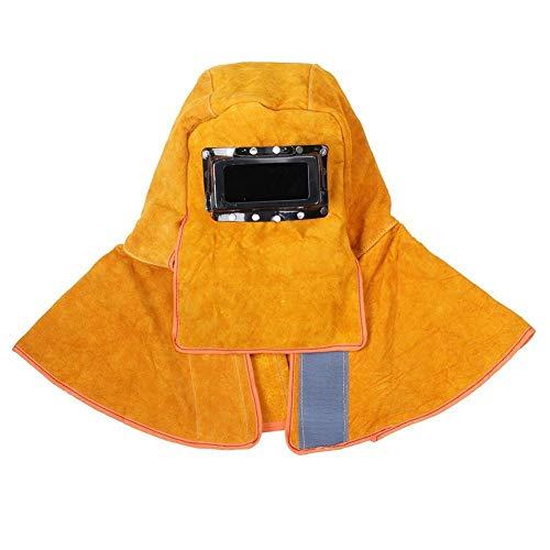 Lashelm Lashelm Masker Solar Auto Verduistering Welder beveiliging en bescherming van de Sjaal Helm Isolatie Anti-Spatter QPLNTCQ