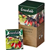 [2 PACK] black tea Greenfield barberry garden Beverages Grocery Gourmet Food [25 of tea bags in 1 PACK]